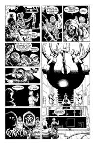 Spaceship Zero Comic Page 4 - Click to Enlarge