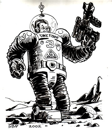 Stefan Poag's SpaceCorp War Suit